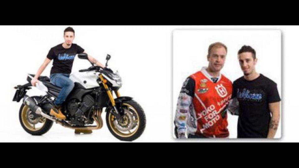 Moto - News: Dovizioso e Salminen testimonial per LeoVince