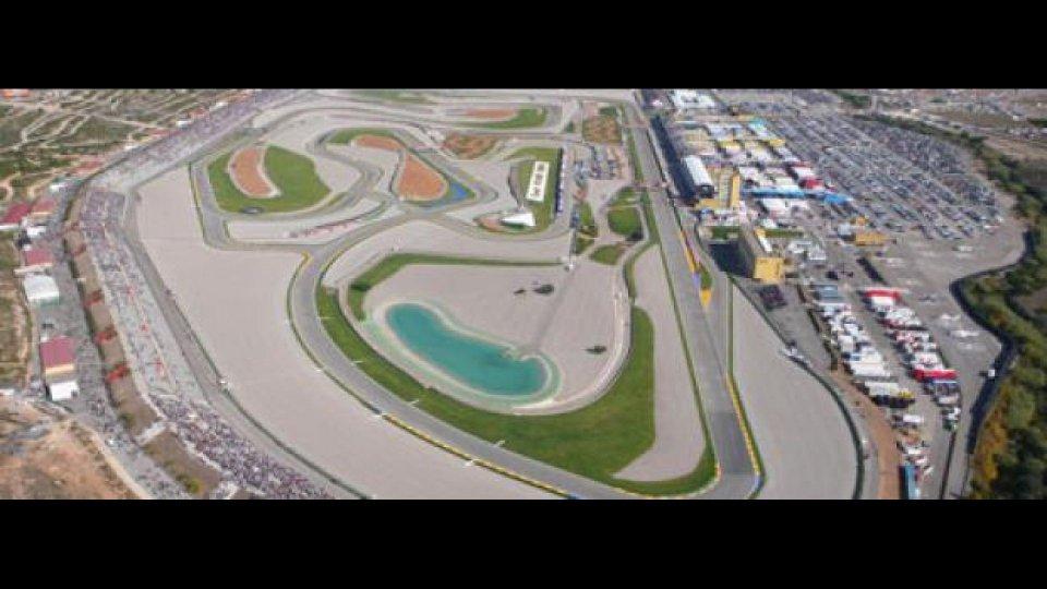 Moto - News: Moto2 e Moto3 2012: Test a Valencia