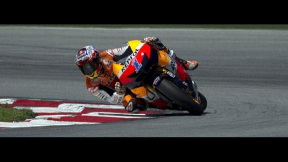 Moto - News: MotoGp, Test Sepang, Day 2: Stoner davanti alle Yamaha