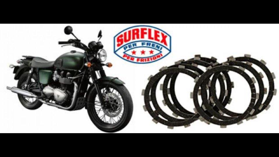 Moto - News: Surflex per le bicilindriche Triumph