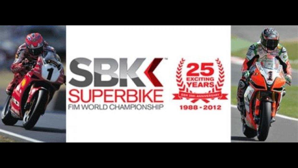 """Moto - News: WSBK 2012: 25 anni di... """"numeri""""!"""
