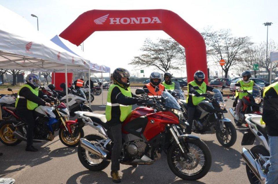 Moto - News: Tornano i test di Honda in the City