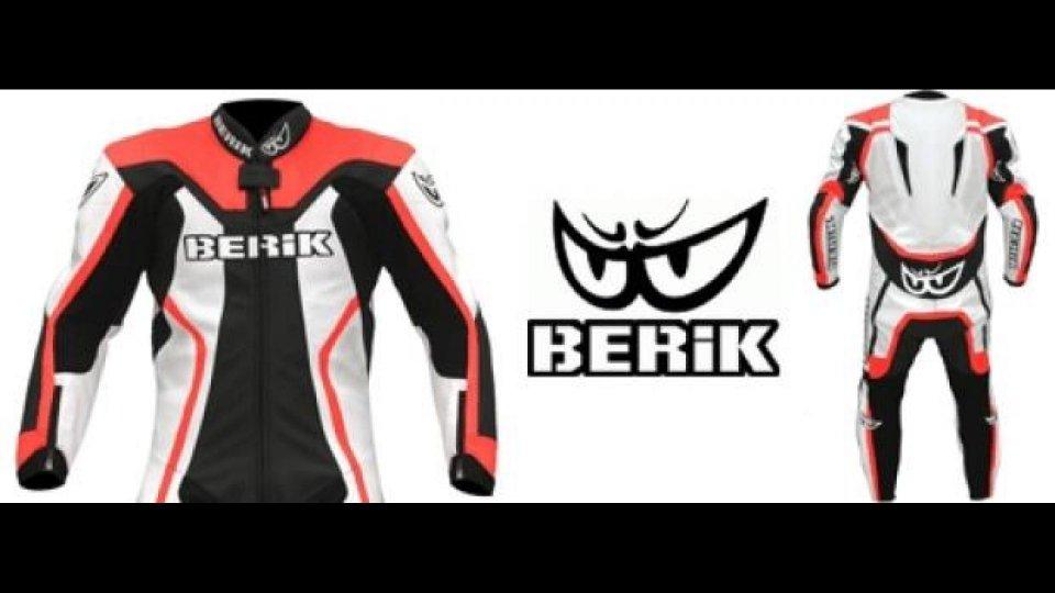 Moto - News: Berik: nuova tuta in pelle