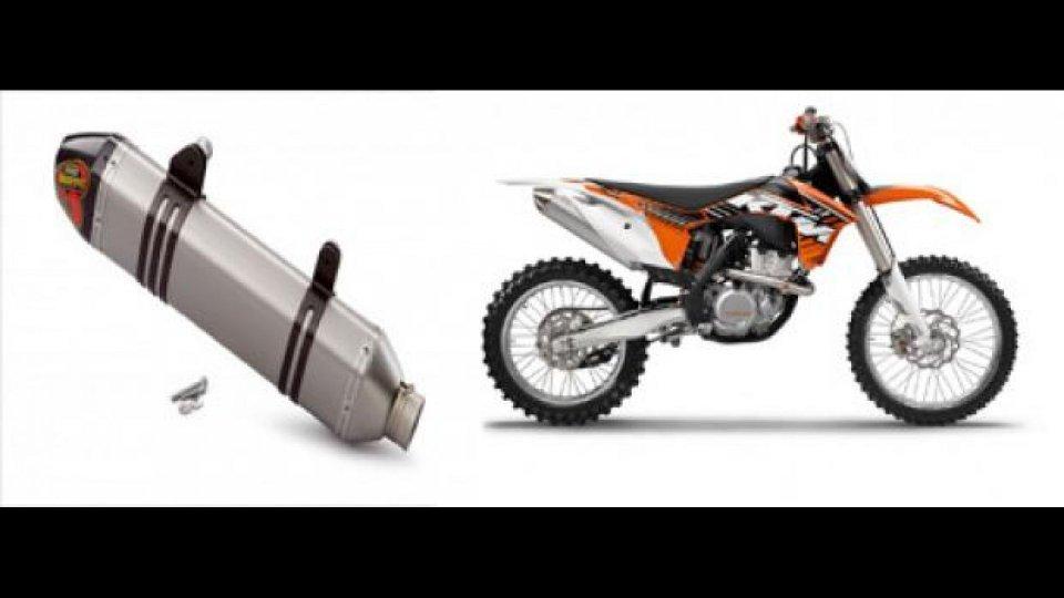 Moto - News: KTM 350 SF-X ora con Akrapovic, di serie