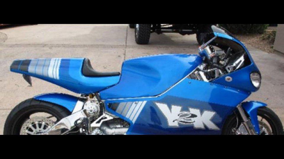 Moto - News: Le moto improbabili: in vendita una MTT Y2K