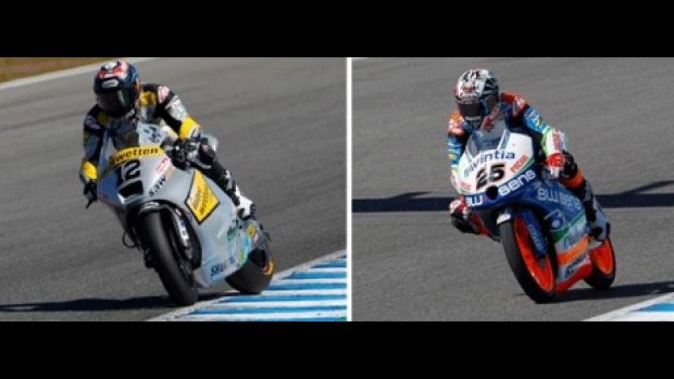Moto - News: Moto 2 e 3, Jerez, Day 2: Luthi conferma, Vinales risponde