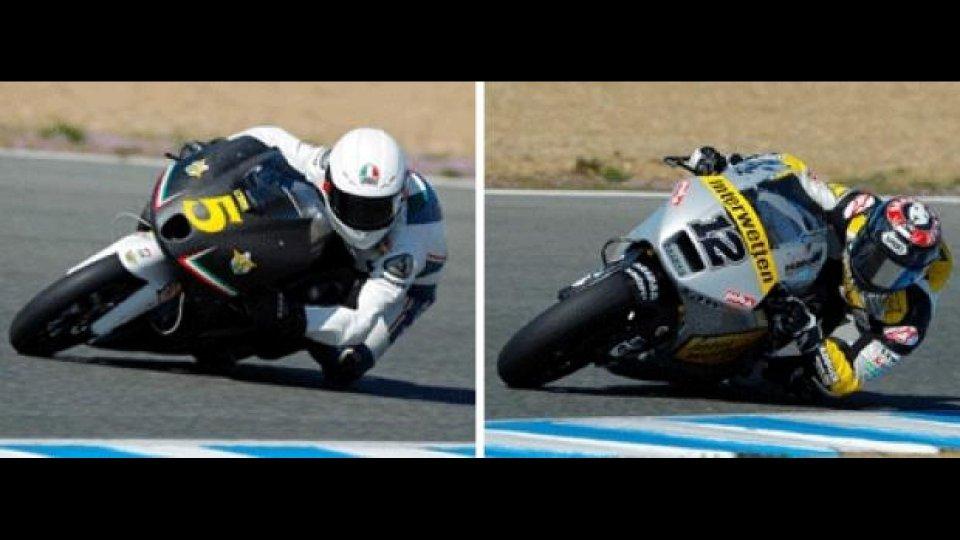 Moto - News: Moto2 e Moto 3, Jerez, Day 1: Luthi e Fenati i più veloci