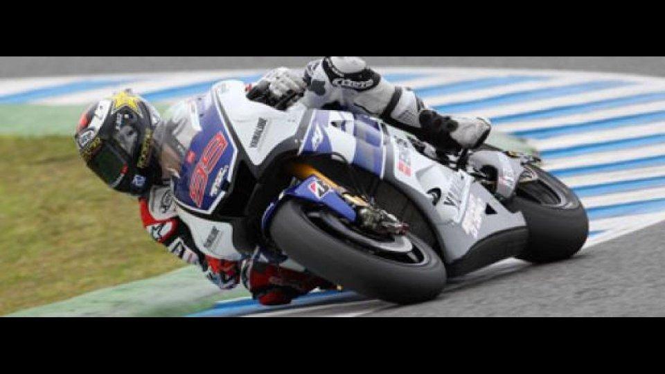Moto - News: MotoGP 2012, Test Jerez, Day 3, ore 14: tempone di Lorenzo