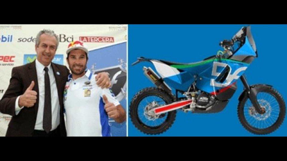 Moto - News: Rally: Francisco Lopez passa al Bordone-Ferrari Racing Team