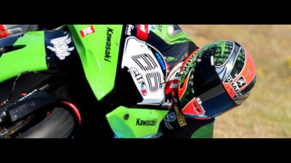 Moto - News: WSBK 2012 Test Aragòn: Sykes straccia i record