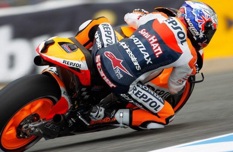 MotoGP: MotoGP, Jerez: Stoner piega Lorenzo