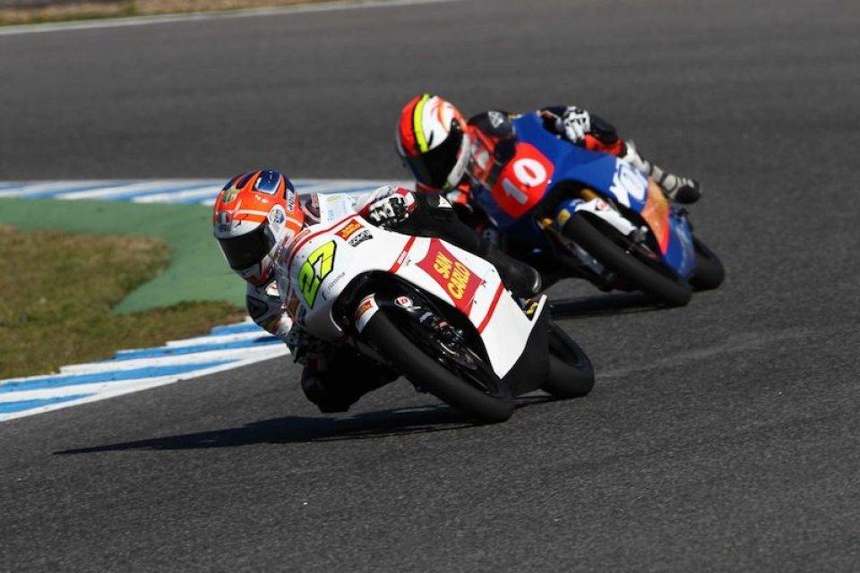 Moto - News: Moto3, Jerez: la rivincita di Antonelli