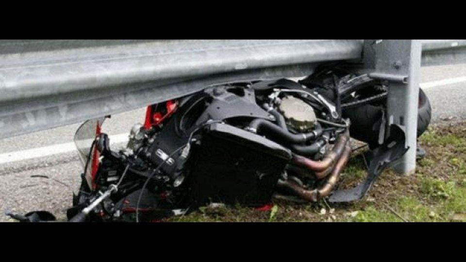 Moto - News: Guard rail assassini: l'Unione Europea si muove