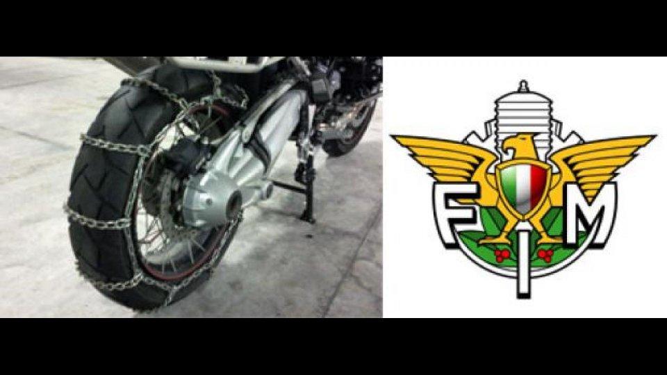 Moto - News: Moto e pneumatici invernali: finalmente chiarezza