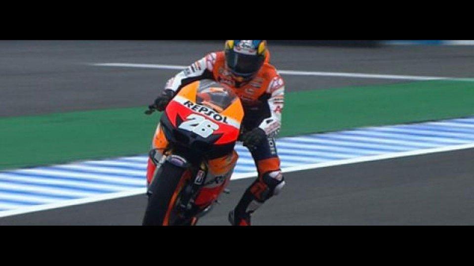 Moto - News: MotoGP 2012 Jerez, Prove libere. Pedrosa sul bagnato