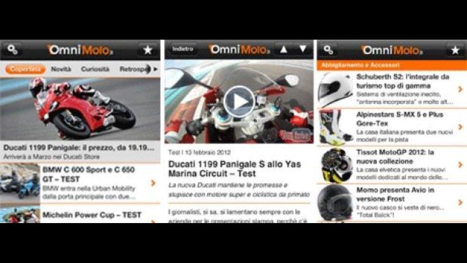 Moto - News: OmniMoto.it da oggi è anche su iPhone!