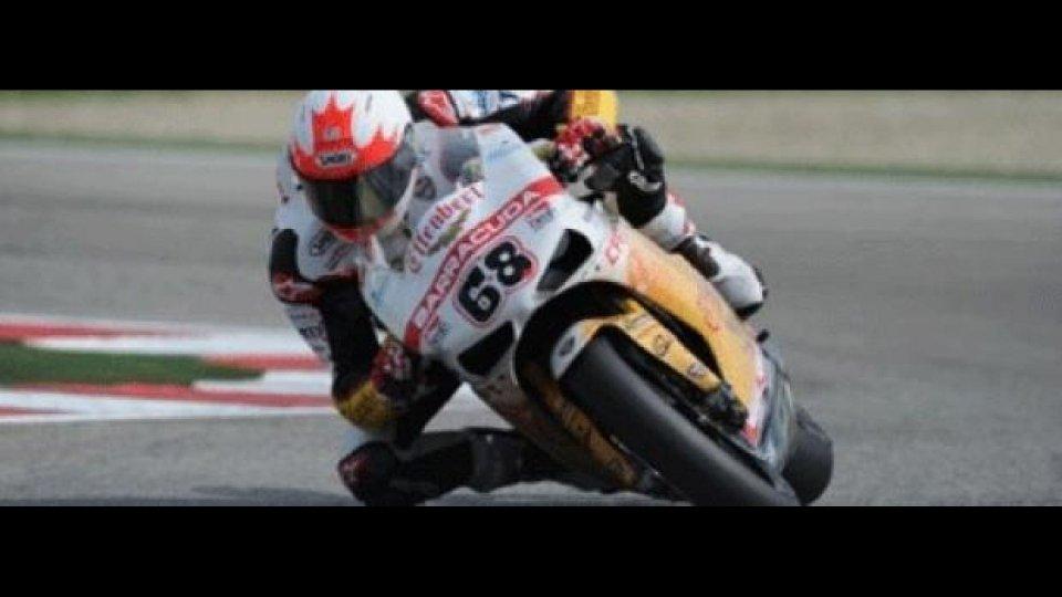 """Moto - News: WSBK 2012: McCormick: """"Sono stato spinto fuori"""""""