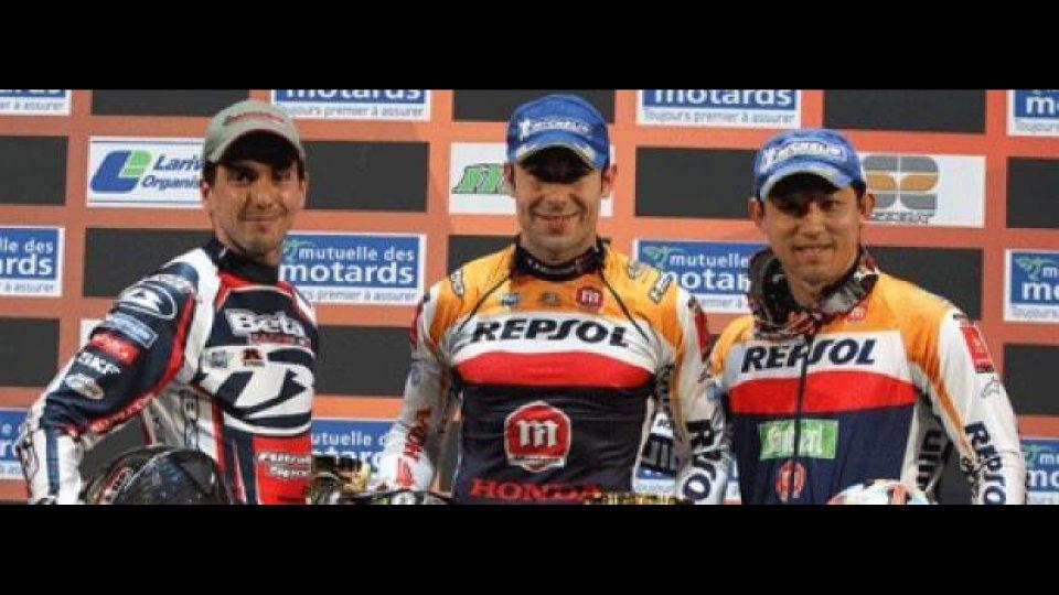 Moto - News: X-Trial World Championship 2012: Bou conquista anche Parigi