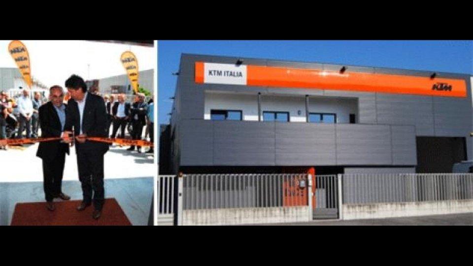 Moto - News: KTM: inaugurata la nuova sede!