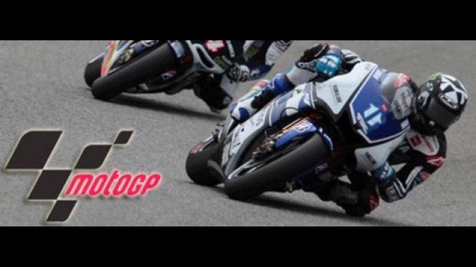 Moto - News: MotoGp 2012, Estoril, Libere 1: Ben Spies precede le Ducati
