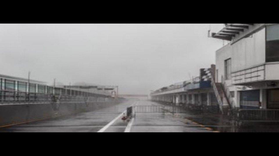 Moto - News: MotoGP 2012 - Piove all'Estoril, test annullati