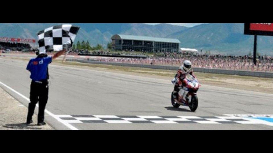Moto - News: WSBK 2012, Miller, Gara 1: Checa su tutti!
