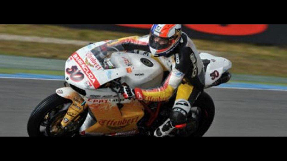 Moto - News: WSBK 2012, Monza, Superpole: sorpresa Guintoli!