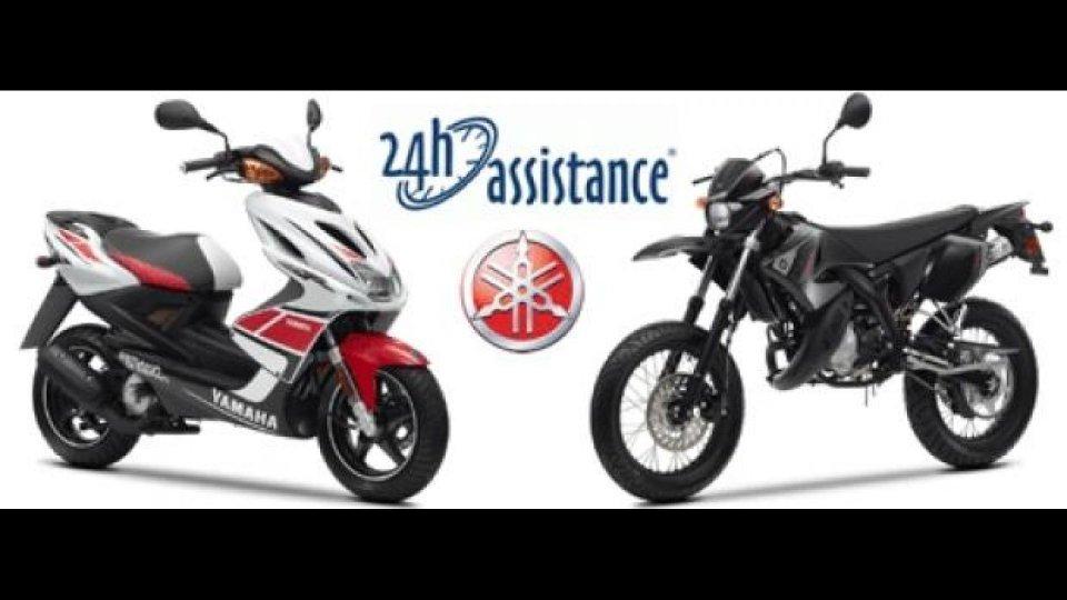 Moto - News: Yamaha e 24hAssistance: nasce Motoplatinum