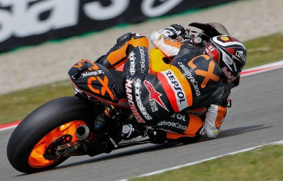Moto - News: Moto2: Marquez docente ad Assen