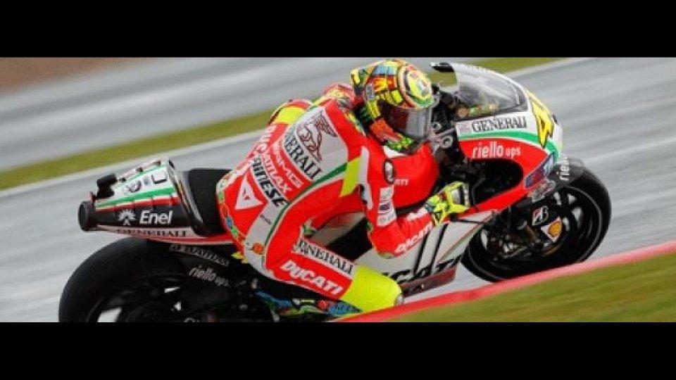 Moto - News: MotoGP 2012: Silverstone, Libere 1, Ducati in testa!