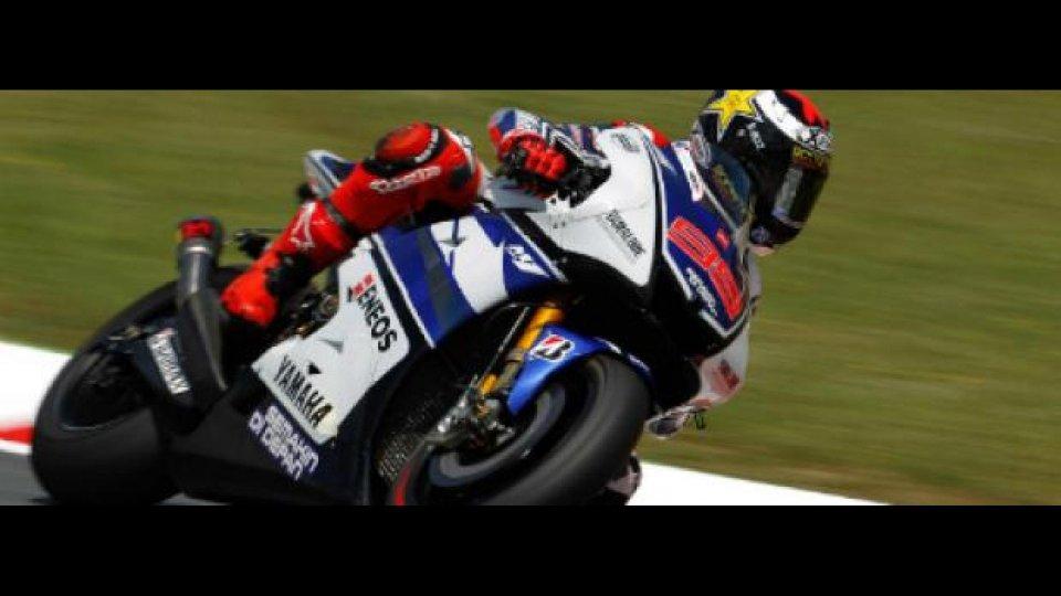 Moto - News: MotoGP 2012, Test Aragon, ore 18: Lorenzo su tutti