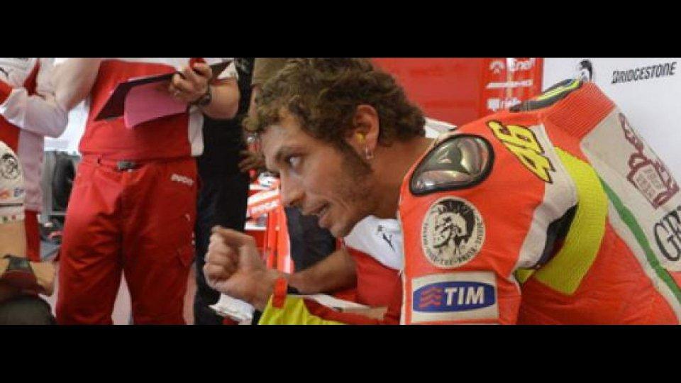 Moto - News: MotoGP 2012 Test Aragon: Rossi ottimista