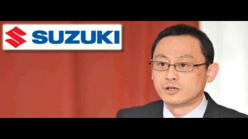 Moto - News: Suzuki: Nobuo Fujii nuovo Direttore Commerciale