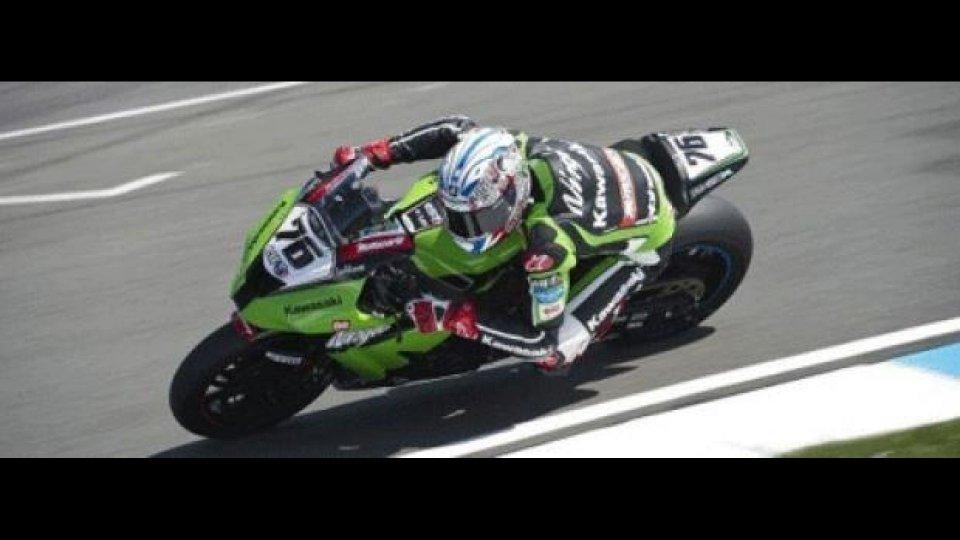 Moto - News: WSBK 2012: Kawasaki, Loris Baz è confermato per tutta la stagione