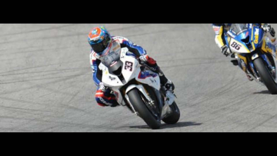 Moto - News: WSBK 2012, Motorland Aragon, Q1: Melandri in pole davanti a Biaggi