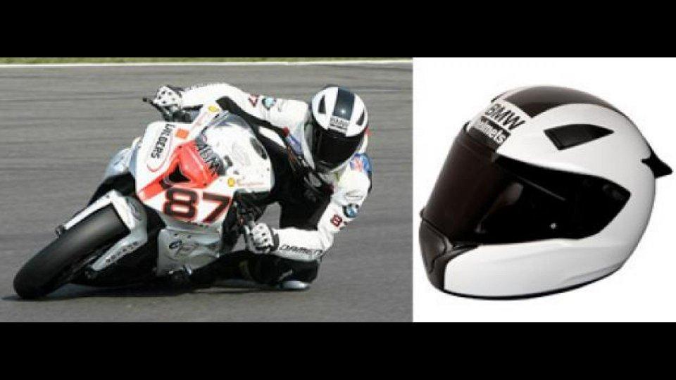 Moto - News: BMW Race, il casco della Casa dell'Elica
