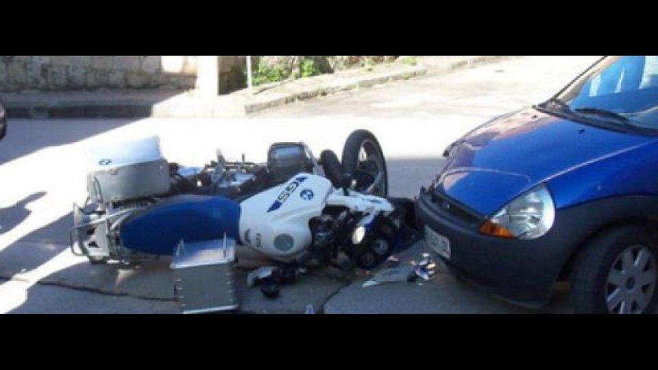 Moto - News: Incidente all'incrocio: moto innocente