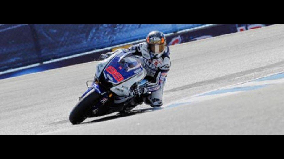 Moto - News: MotoGp 2012, Laguna Seca: pole e record per Lorenzo