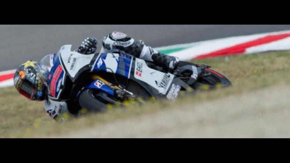 Moto - News: MotoGp 2012, Mugello, Libere 3: Lorenzo ha un gran passo