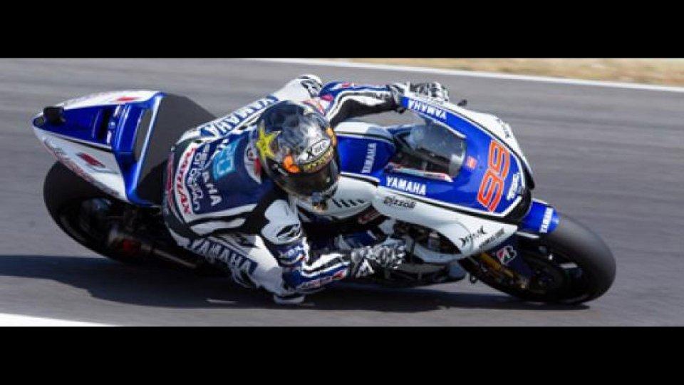 Moto - News: MotoGP 2012 test Mugello: Lorenzo guida il gruppo