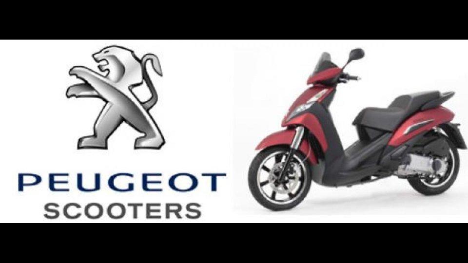 """Moto - News: """"Peugeot...sempre con te"""""""