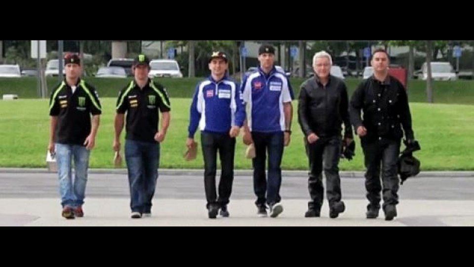 Moto - News: Yamaha MotoGP 2012 - Another Day at the Office