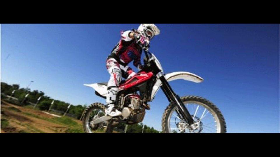 Moto - Test: Husqvarna cross 2013: nome svedese, orgoglio italiano! - TEST