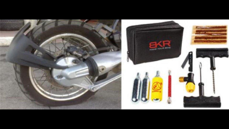 Moto - News: BKR presenta il kit ripara gomme