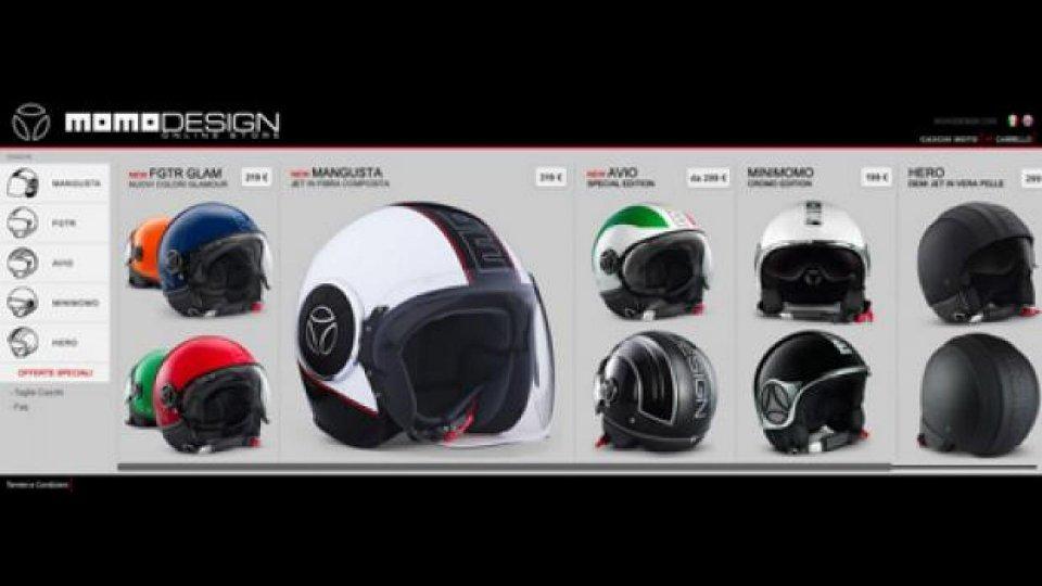Moto - News: Momodesign lancia il proprio negozio online