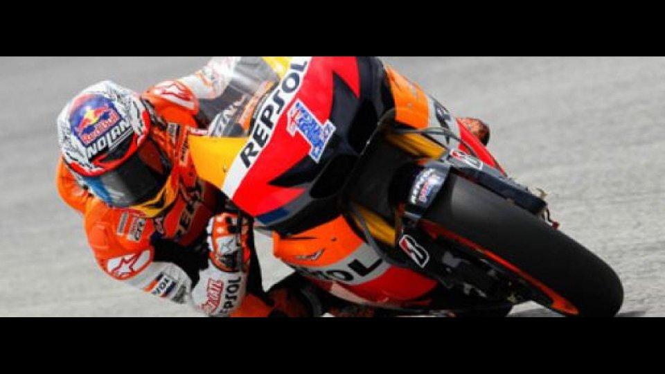 Moto - News: MotoGp 2012, Indianapolis, Libere 1: Stoner al top