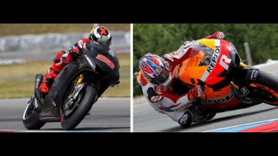 Moto - News: MotoGP 2012: test Brno, il punto