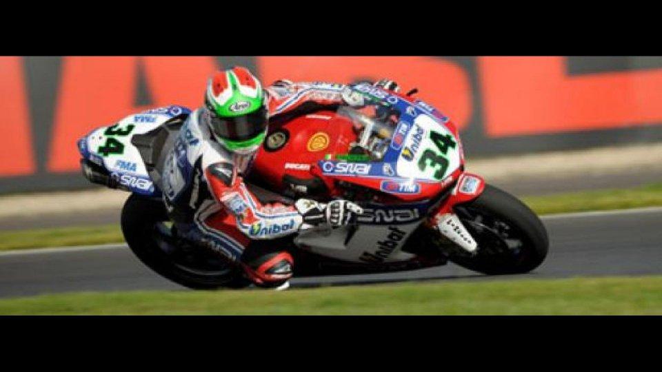 Moto - News: WSBK 2012, Moscow Raceway, Q1: Giugliano nella tripletta Ducati