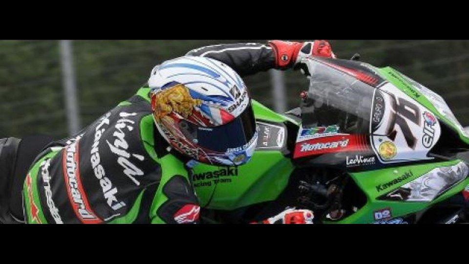 Moto - News: WSBK 2012, Silverstone, Gara 1: Fantastico Baz