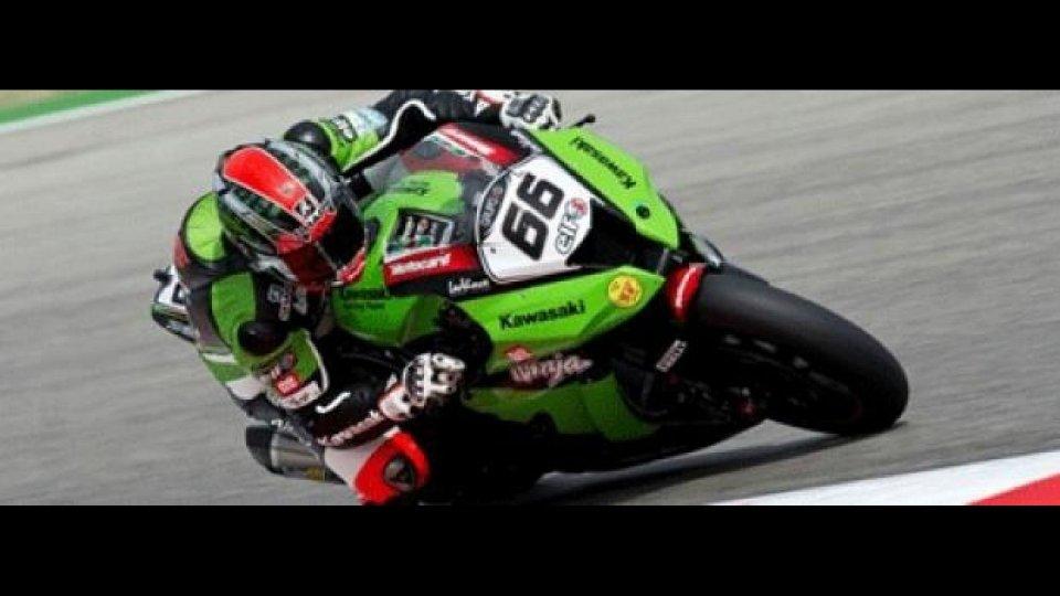 Moto - News: WSBK 2012: Silverstone, Q1: Sykes supera Checa per pochissimo